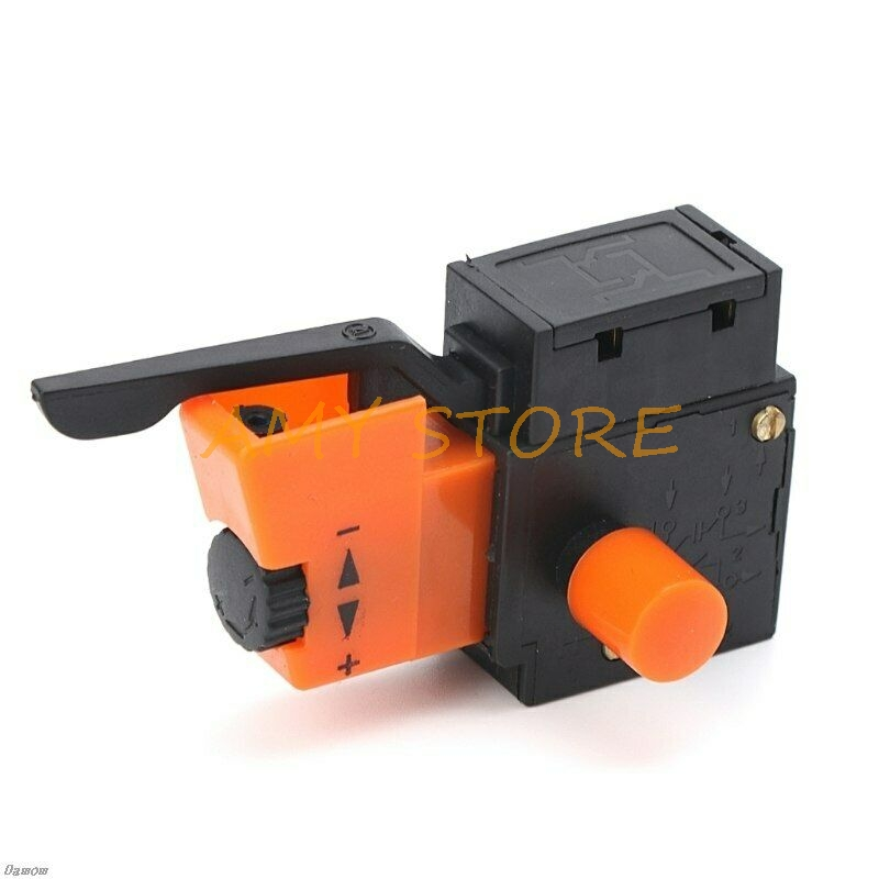 AC 250V/4A FA2-4/1BEK Adjustable Speed Control CW/CCW Switch For Electric Drill Power Tool Trigger Switches