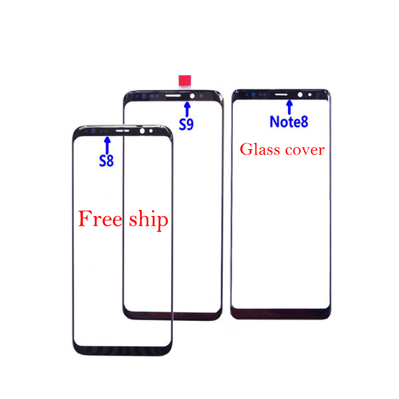 Screen Touch Panel Outer Lens For <font><b>Samsung</b></font> <font><b>Galaxy</b></font> Note 10 plus <font><b>S8</b></font> Plus S9 Plus S10 plus S10 S10e Note 9 8 Front <font><b>Glass</b></font> <font><b>Replacement</b></font> image