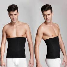 Cinto de emagrecimento masculino formador de cintura cincher corpo fajas espartilho ginásio esporte masculino shaper cinto fino 3fs