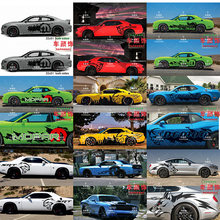 Car sticker FOR Dodge challenger charger body exterior decoration personalized custom setting sticker decal(China)