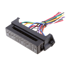 Car Truck Automotive 12 Way ATC/ATO Blade Fuse Box Holder With Wire Harness