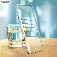 IMIDO Soft TPU Case for OPPO Reno Z 10 X Zoom Silicone Cases 10X Protective Cover Transparent