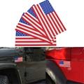 Автомобильная наклейка с американским флагом, стикер для автомобиля, Стайлинг, флаг США, Американская страна, водонепроницаемая наклейка, а...
