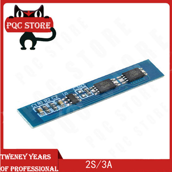2S 3A Li-ion Lithium Battery 7.4v 8.4V 18650 Charger Protection Board bms pcm for li-ion lipo battery cell pack