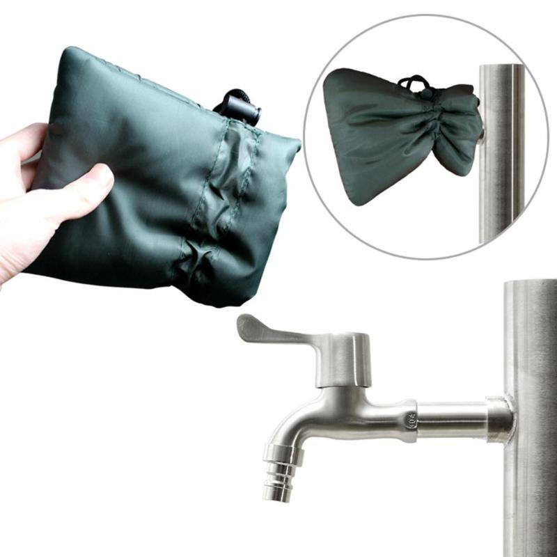 Waterproof Outside Thermal Faucet Cover Tap Oxford Cloth Faucet Antifreeze Cover Protector Winter Frost Insulated