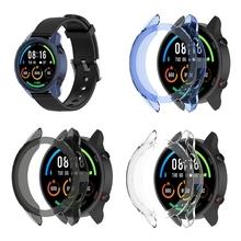 TPU etui na zegarek skóra pokrowiec na-Xiaomi Mi zegarek kolor edycja sportowa Dropship tanie tanio OOTDTY CN (pochodzenie) Przypadki Dla osób dorosłych