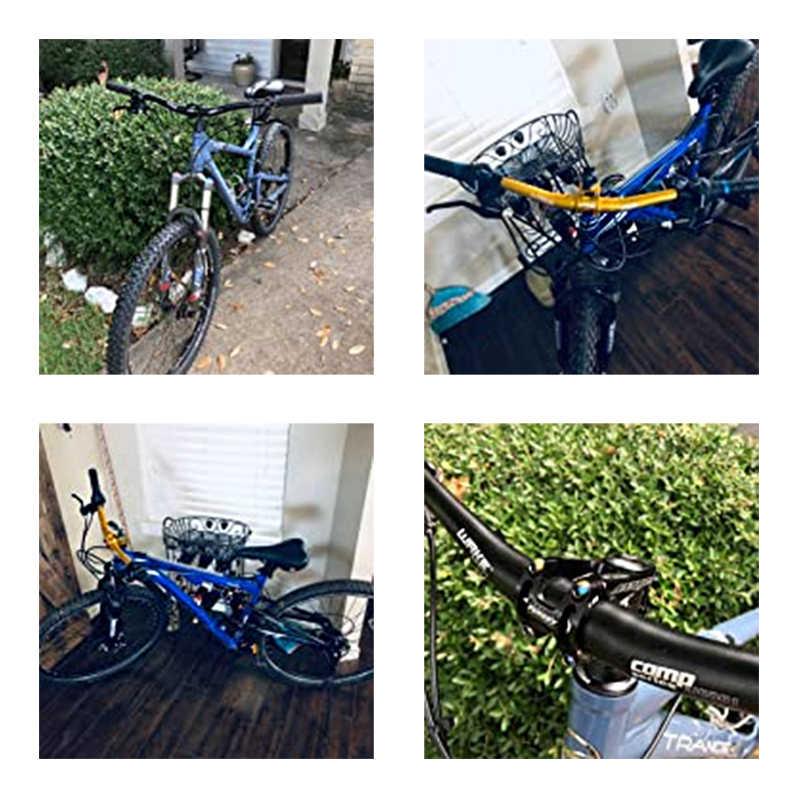 자전거 핸들 자전거 핸들 알루미늄 합금 MTB 자전거 도로 자전거 핸들 acoples bicicletas 720/740/760/780/800 미리메터 * 31.8 미리메터