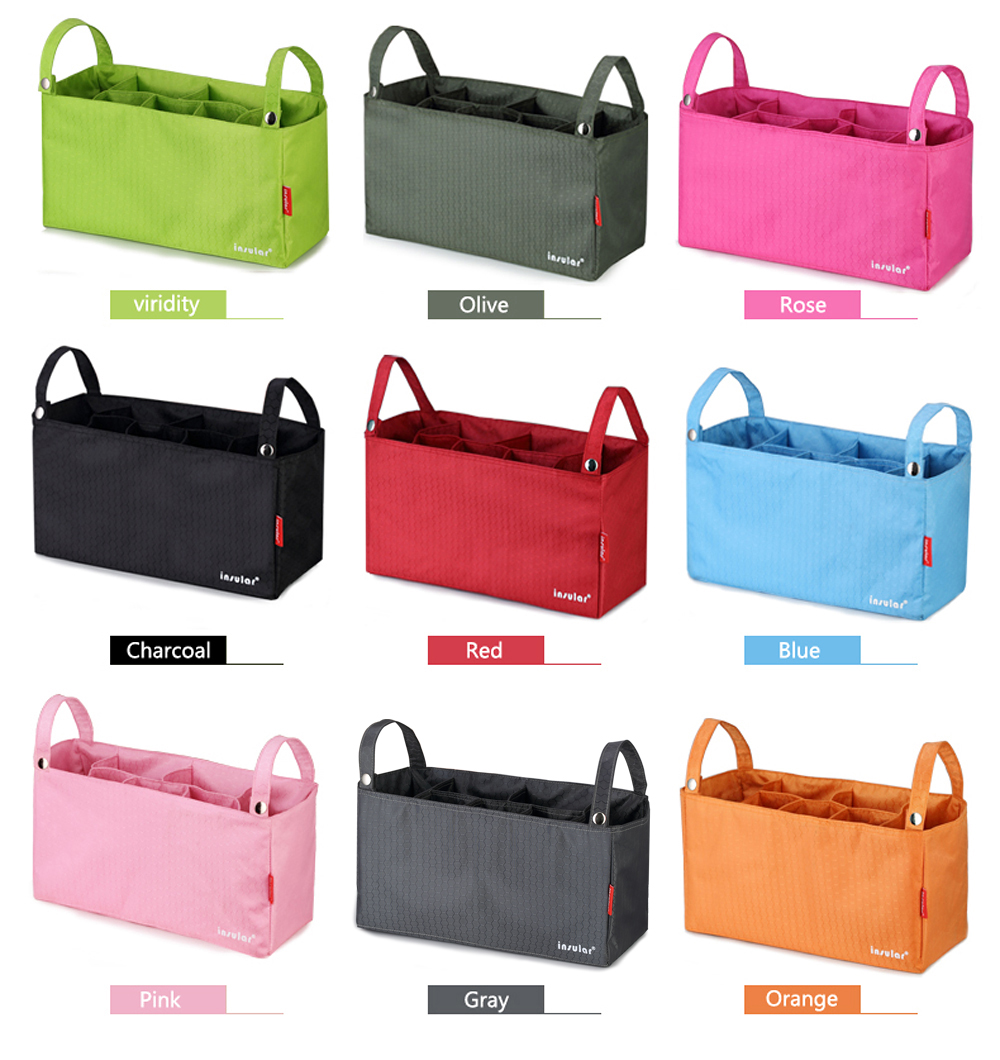 Diaper Bag Fashion Multifunction Baby Inner Container Nappy Bags For Mom Big Capacity Stroller Mummy Polyester Bag For Nappy