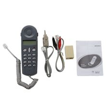 Горячий 3c телефонный телефон Lineman тест на стык тестер er Набор кабелей инструмента