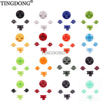 18colors Colorful Replacement Buttons for Gameboy Classic GB Keypads for GB DMG DIY for Gameboy A B buttons D-pad