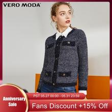 Vero Moda Women's Vintage OL Style Cardigan Knitted Jacket | 319313575