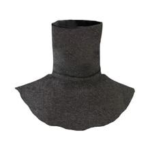 Solid Color Dickey False Fake Collar Turtleneck Detachable Half Top Neck Cover