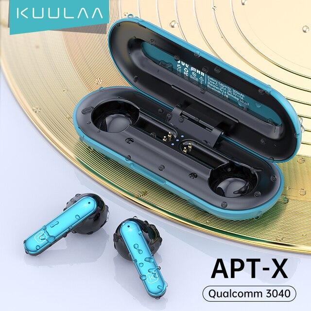 Беспроводные наушники KUULAA QCC 3040 1