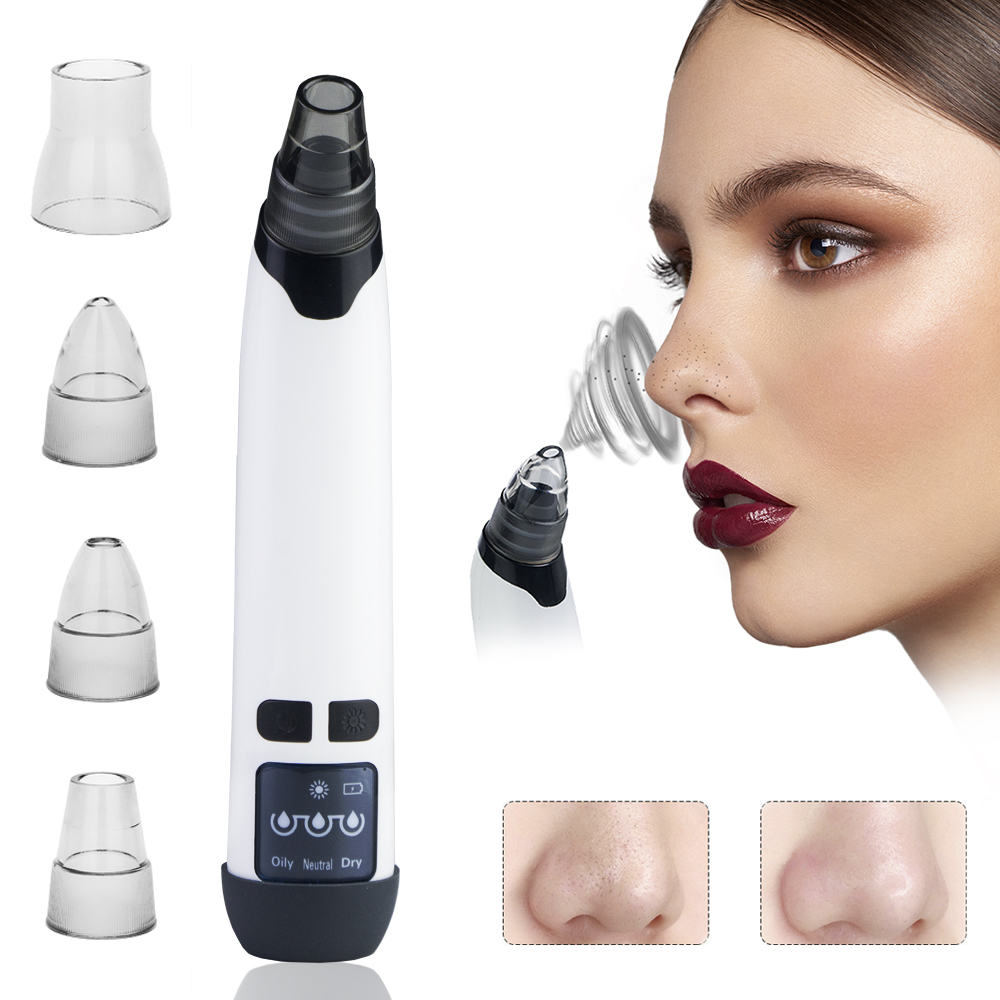 Head-Extractor Massage Skin-Care-Tool Vacuum-Cleaner Electric-Heating-Face Black Dots