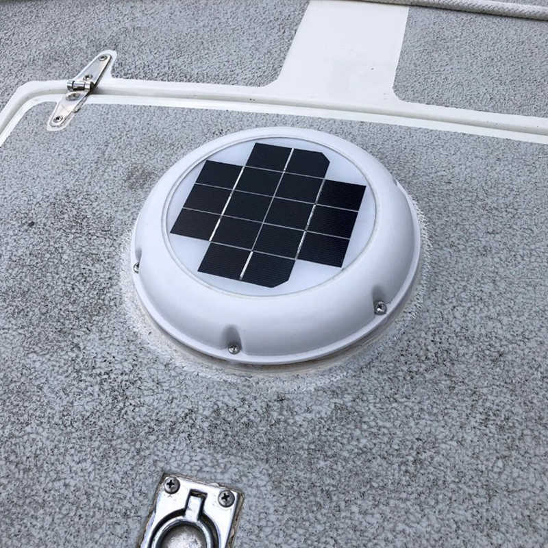 solar roof vent extractor fan automatic ventilator f120mm used for caravans boats rv green house shed motorhome mobile toilet