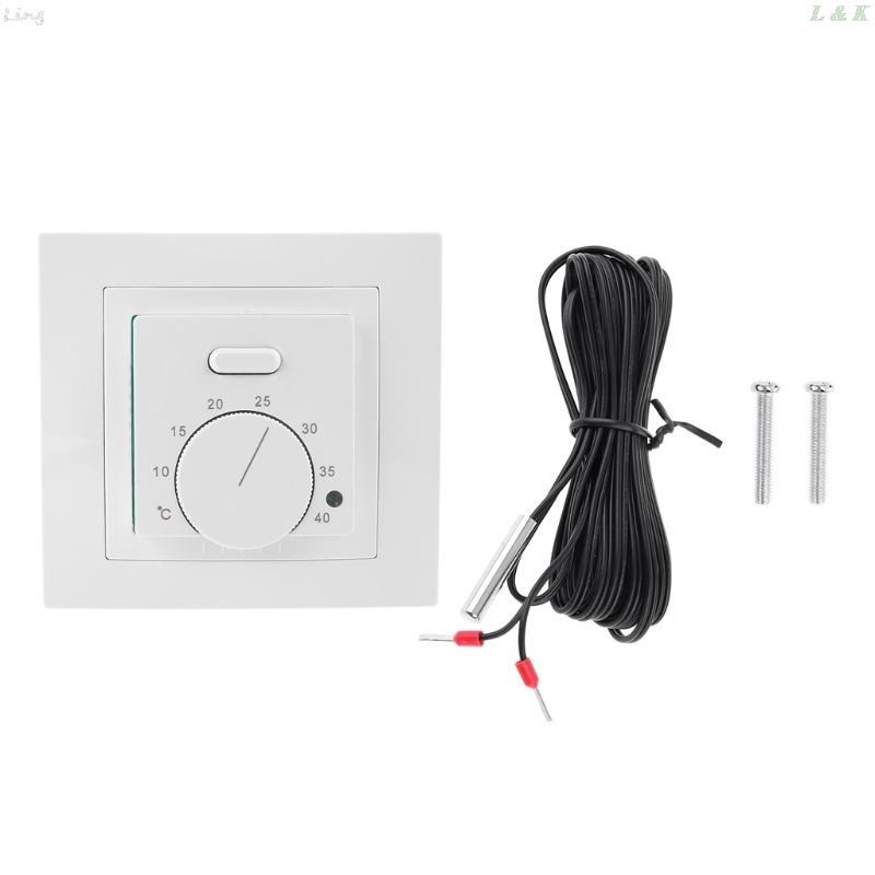 Floor Electric Heating Room Thermostat 16A AC220~230V Temperature Controller 86 U50A