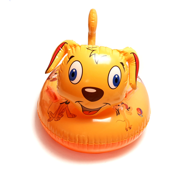 baby float swimming pool accessories bebes swim ring toys 0-5 age kids floaties summer toys newborn bathroom floaty accessories - yellow dog, France
