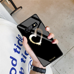 Image 5 - Gehard Glas Case Voor Samsung Galaxy S10 S9 S8 S20 Plus S10e S20 Ultra A51 A50 A71 A70 Shockproof Ster ruimte Gradiënt Cover