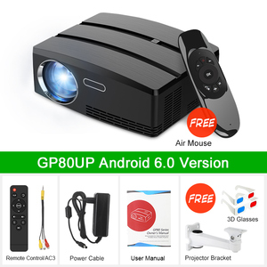 Image 5 - Mini Projector Home Theater Projector Android Wifi Beamer 3D HD LED Proyector with HDMI USB VGA AV Port Clearance Video TV