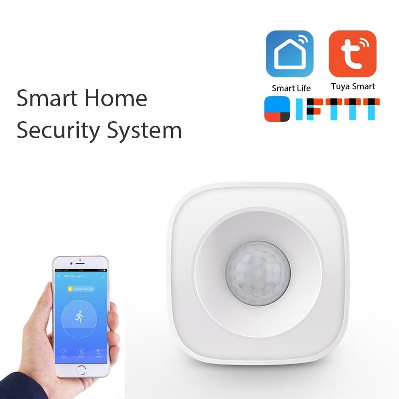 WIFI PIR Motion Sensor Human Body Sensor Smart Body Movement Wireless Passive Infrared Detector Zigbee Use With Gateway TUYA App
