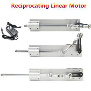 Reciprocating Motor Power-Supply Telescopic Speed-Control Linear-Actuator 12V/24V DC