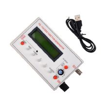 FG-100 DDS Function Signal Generator Frequency Counter 1Hz - 500KHz portable 1hz 500khz sine wave frequency dds functional signal generator high precision for circuit testing pulse response