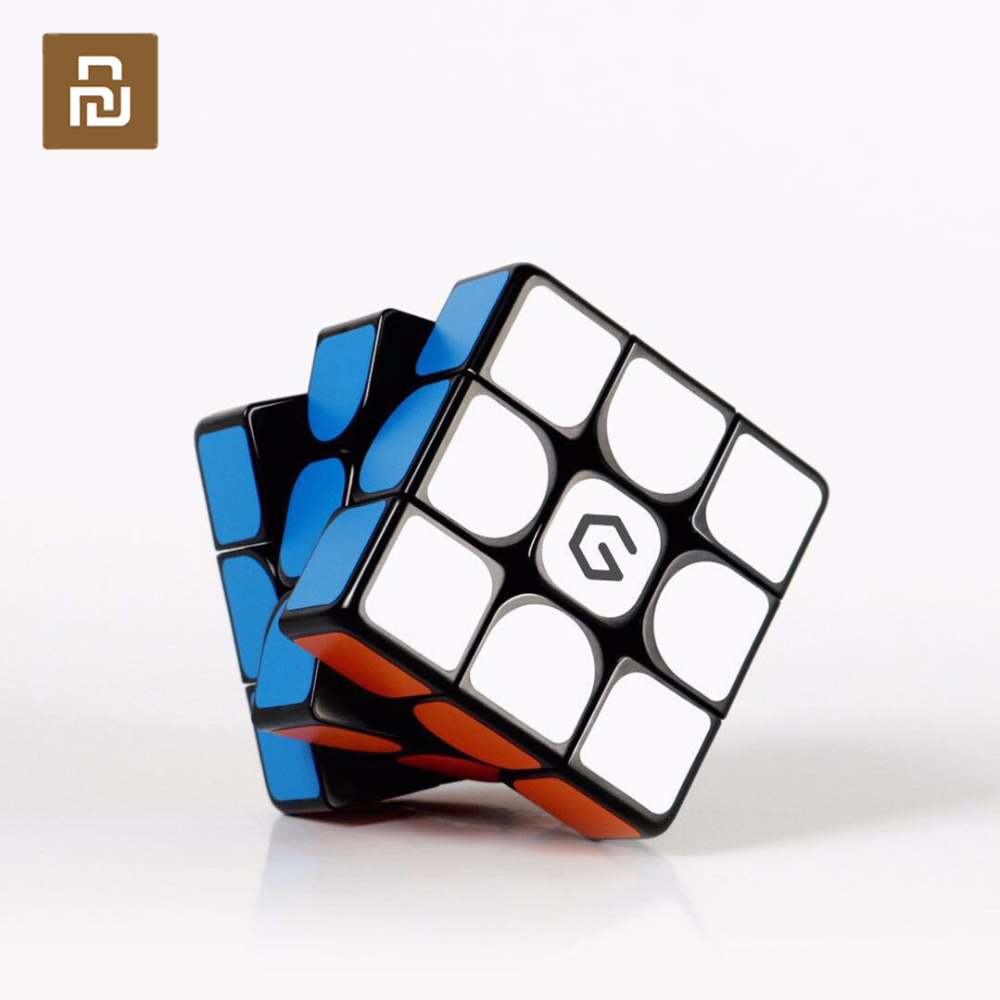 Original Youpin Giiker M3 Magnetic Cube 3x3x3 Vivid Color Square Magic Cube Puzzle Science Education work with giiker app