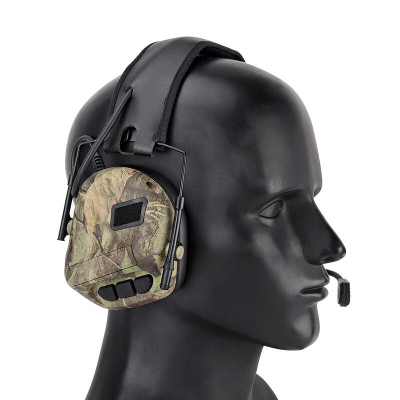 pratico jogo de fone de ouvido anti ruido earmuff caca tiro tatico militar esporte ao ar