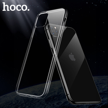 HOCO Original Clear Soft TPU Case for iPhone 11 11 Pro Transparent Protective Cover Ultra thin Protection for iPhone 11 Pro Max