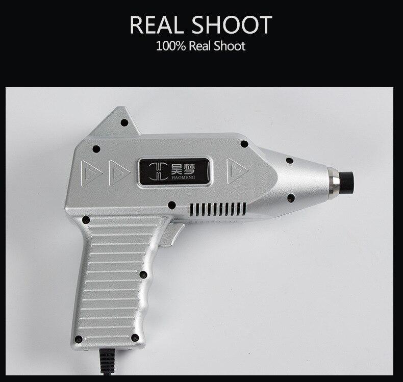 New 1500N Chiropractic Adjustable Tool Correction Gun Spine Back Activator Instrument 16 Levels Impulse Massage Tool Health Care Neck Massage  Instrument     -