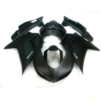 Wotefusi Injection Mold Bodywork Fairing For 2007-2011 08 09 Ducati 1098 848 1198 (DF)