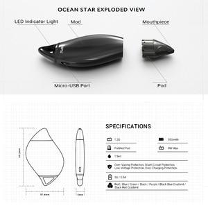 Image 4 - Оригинальный комплект VAPTIO Ocean Star с аккумулятором 550 мАч, емкостью 1,5 мл, стартовый набор VAPE pod system
