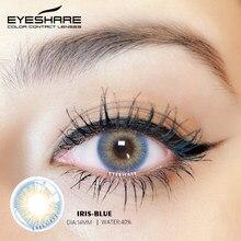 EYESHARE 2 unids/par IRIS serie de lentes de contacto de Color para cosméticos para ojos de lentes de contacto