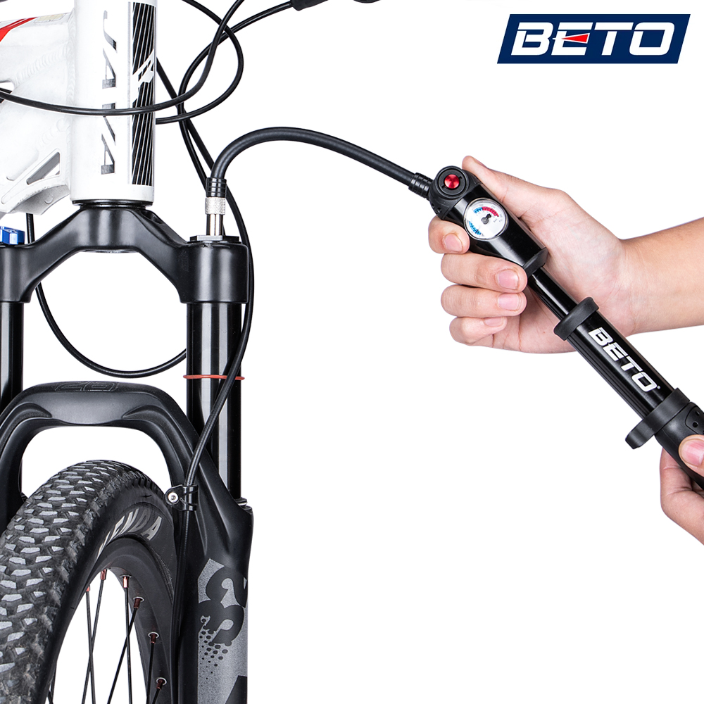 BETO SP-003AG  PRECISION SHOCK PUMP 300 PSI 20 BAR MOUNTAIN BIKE SUSPENSION