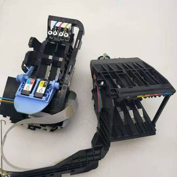 Ink cartridges holder rack serbice & Printhead carriage assembly for hp 8000