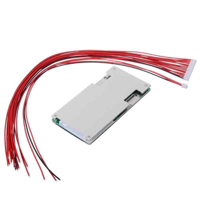 60 17S V 45A Equilíbrio Placa Placa de Proteção de Energia Da Bateria De Lítio BMS PCB PCM Elegante Casa de Proteção Suprimentos Essenciais