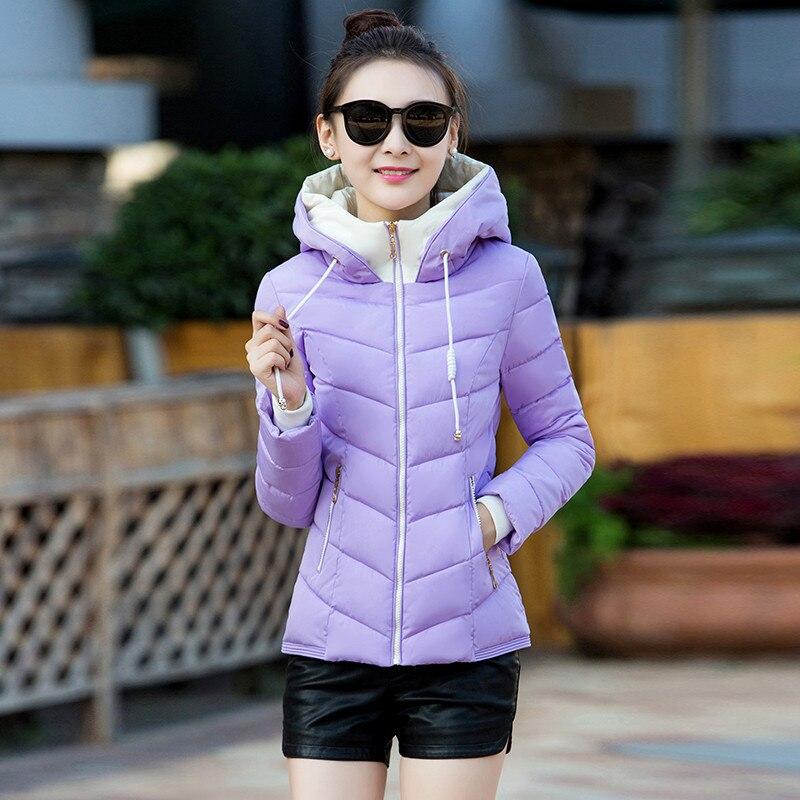 Women's Fashion Down Jackets White Goose Warm Winter Coat Hooded Women Parka Padded Slim Coats Casaco De Inverno WXF410 S