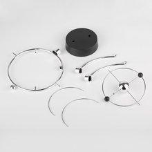 Globe Model Rotation Perpetual Motion Instrument Magnetic Orbit Ornament Orbital Newton Pendulum Model Office House Desk