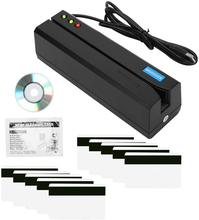 Msr605x leitor de cartão usb magcard escritor sem adaptador de energia compatível msr605 msr x6 msr606i msrx6bt