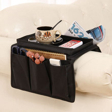Convenient Sofa Armrest Organizer Couch Armchair Hanging Storage Bag for Remote Control