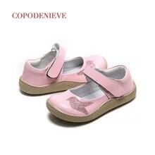COPODENIEVE zapatos de princesa para niña pequeña, calzado de fiesta para niña, charol de 2 a 7 años