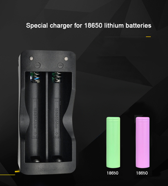 PUJIMAX battery charger 18650 EU 2slots Smart charging  Li-ion Rechargeable Battery charger 3