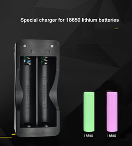 Image 4 - PUJIMAX 18650 battery charger EU 2slots Smart charging  Li ion Rechargeable Battery charger