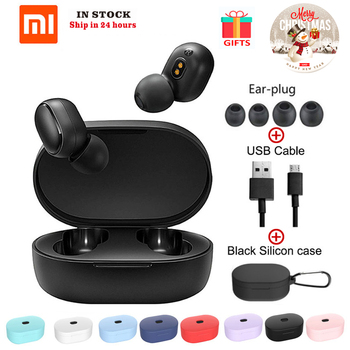 Global Version Xiaomi Redmi AirDots In Ear TWS Wireless Bluetooth Earphone Stereo bass Mic Handsfree AI Control Bluetooth 5.0