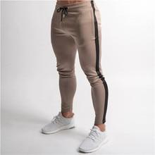 חדש מותג גברים מכנסיים היפ הופ הרמון רצים מכנסיים 2019 זכר מכנסיים Mens רצים מוצק מכנסיים טרנינג גודל גדול XXLמכנסי סקיני