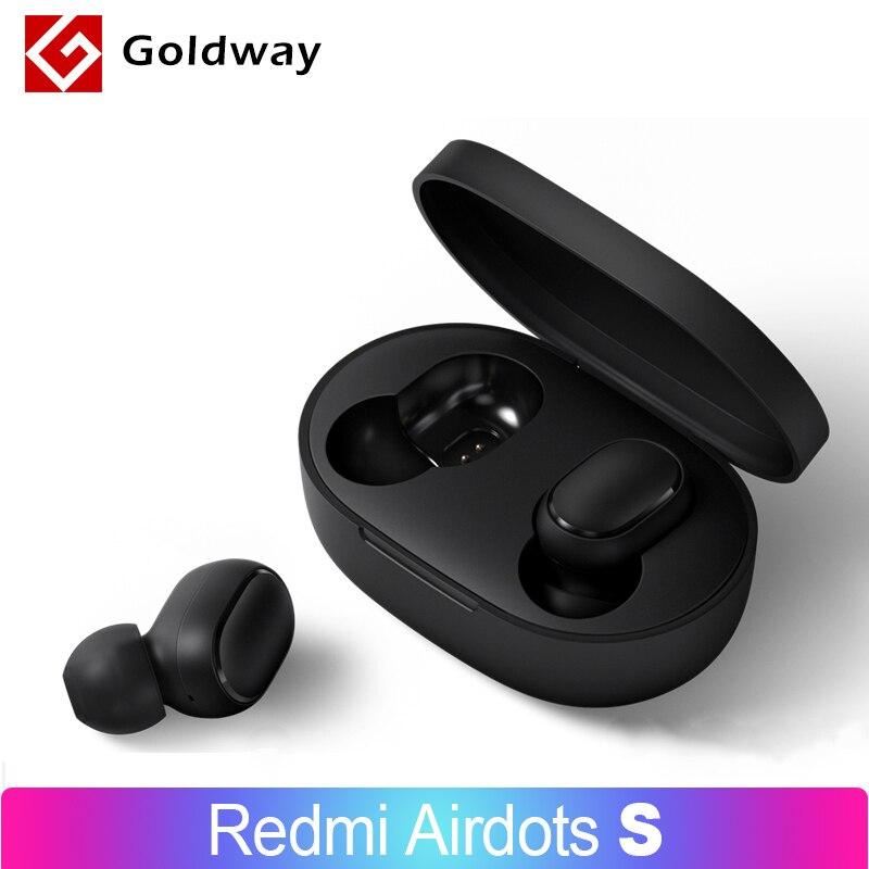Xiaomi Redmi AirDots S Wireless Bluetooth 5.0 TWS Earphone Headset Left Right Low Lag Mode Mi True Wireless Stereo Auto Link Phone Earphones & Headphones    - AliExpress