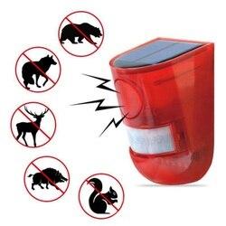 Ogród na zewnątrz urządzenie odstraszające szkodniki energii słonecznej dla Gopher Insect Animal gryzonie Control Tools ultradźwiękowy elektroniczny odstraszacz