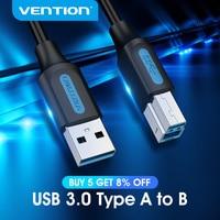 Mukavele USB yazıcı kablosu USB 3.0 2.0 tip A erkek B erkek kablo Canon Epson HP için ZJiang etiket yazıcı DAC USB yazıcı