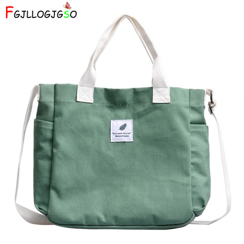 Soft Canvas Bag Large Capacity Women Shopping Bag Ladies Daily Use Handbag Casual Beach Bag Tote Contrast Color Letter Hasp Bag
