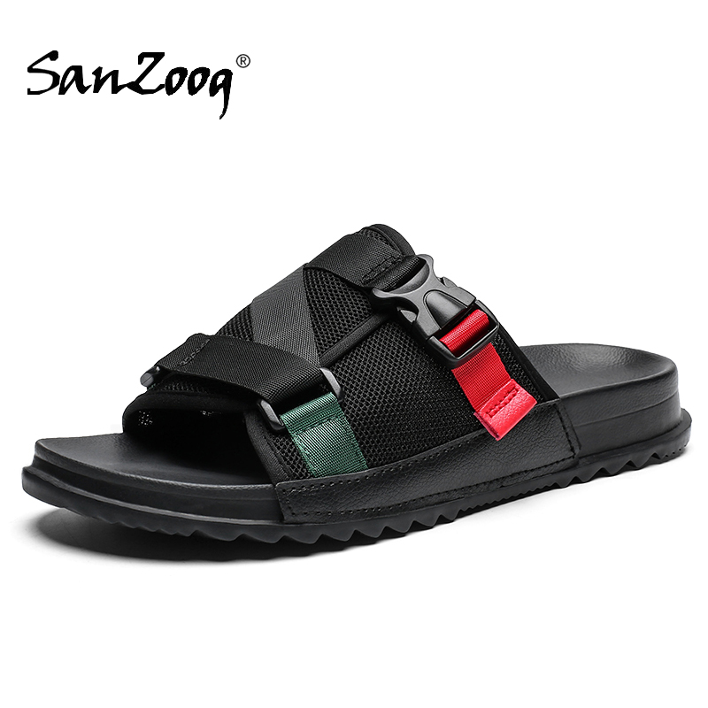 Summer Slides Men Indoor Outdoor Soft Slippers Home House Bedroom Mens Male Slide Slipper Sleepers Slipers Casual Sleeper EVA